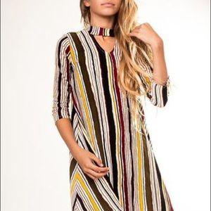 Boutique Pomelo striped Tween dress 14 16